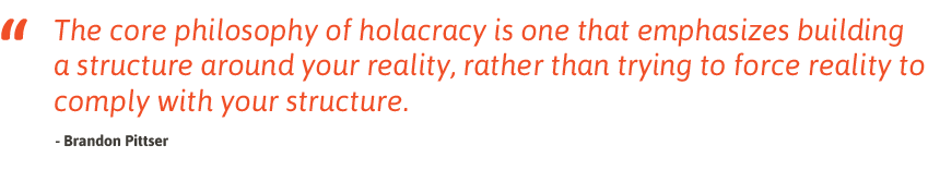 Holacracy quote