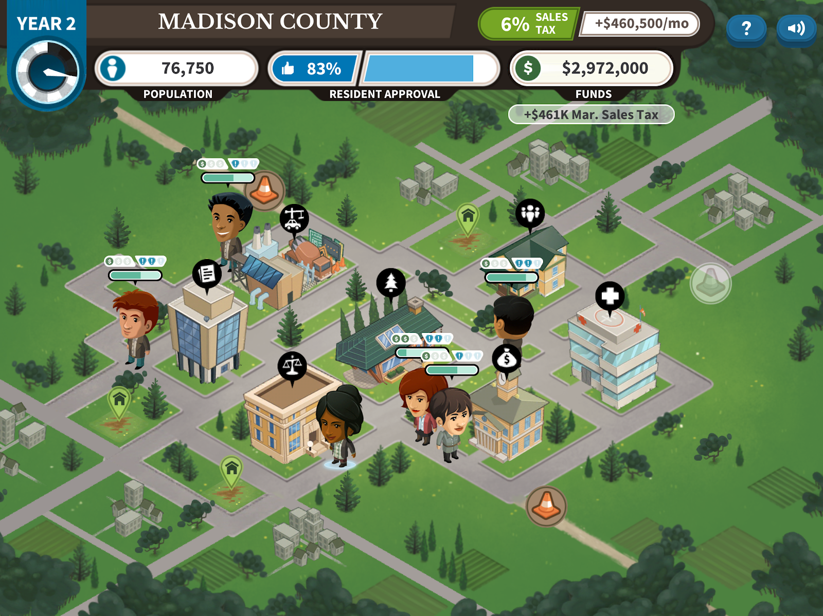 Counties Work screenshot