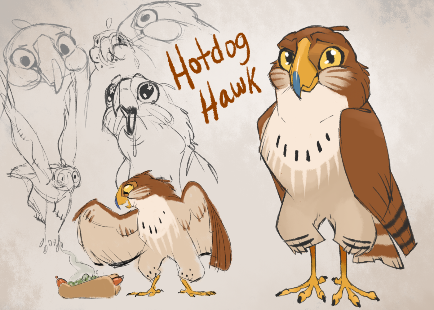 Natasha Soglin's Hotdog Hawk