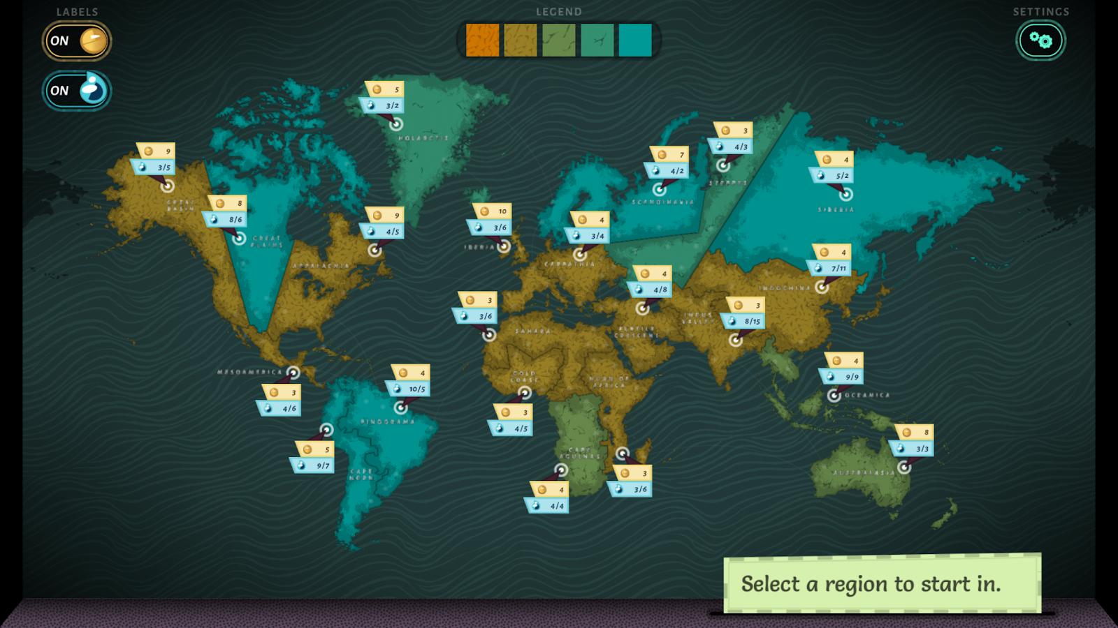 Aquation screenshot 3