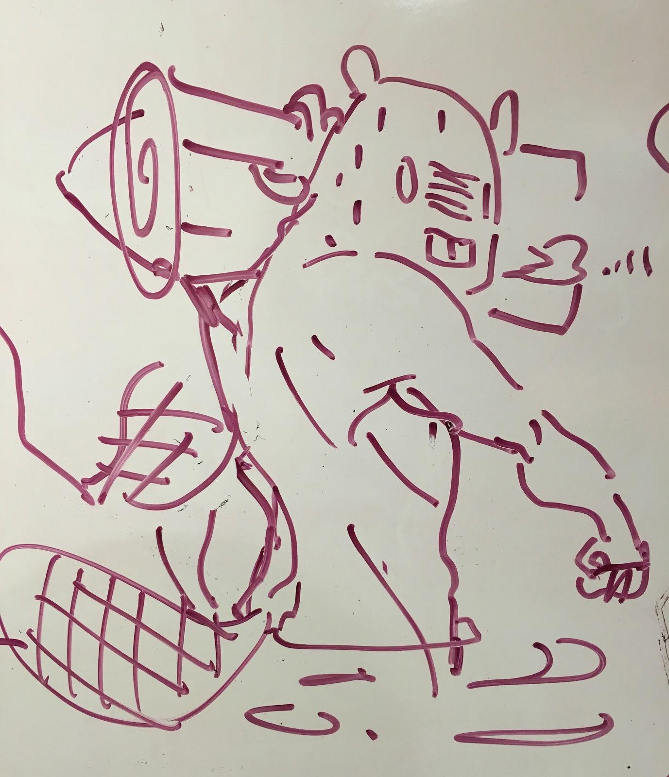 Hunky beavers
