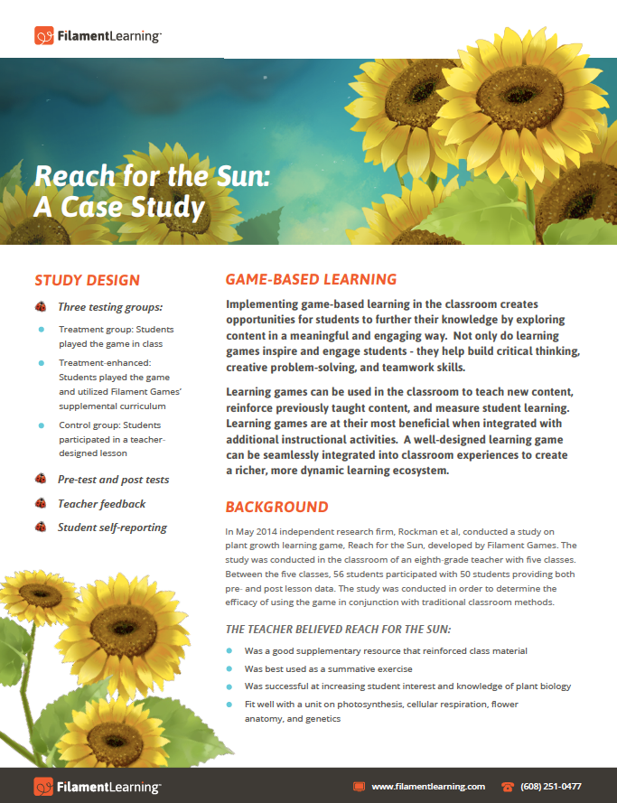 Reach for the Sun: A Case Study