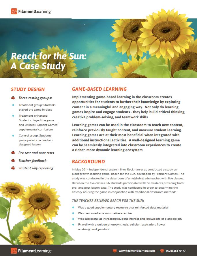 Reach for the Sun: A Case Study