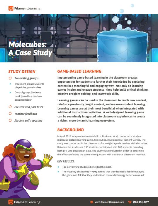 Molecubes: A Case Study