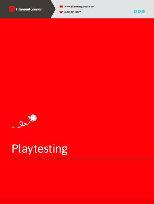 Playtesting guide