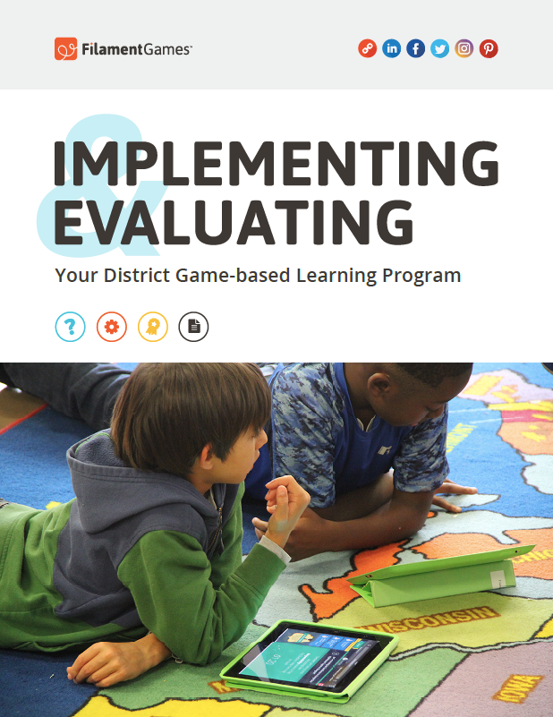 Implementing and Evaluating Your District Game-based Learning Program eBook