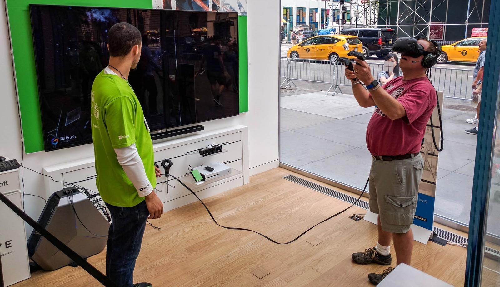 A Live VR Demo