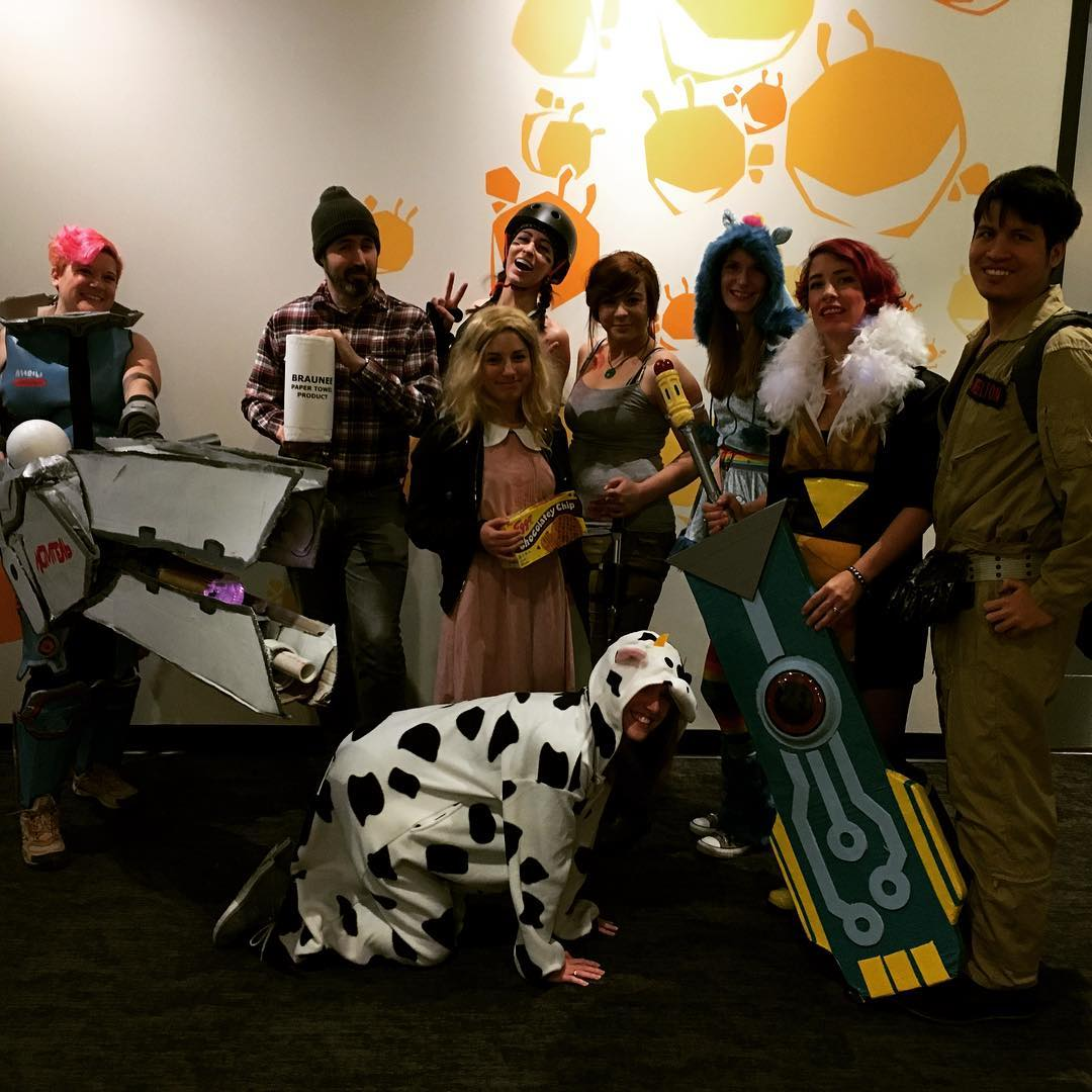 Halloween at Filament Games
