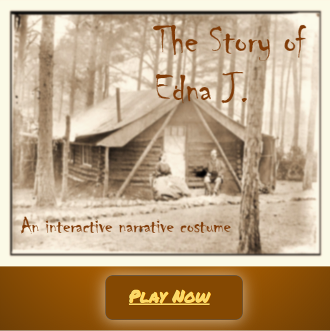 The Story of Edna J. - An Interactive Narrative Costume
