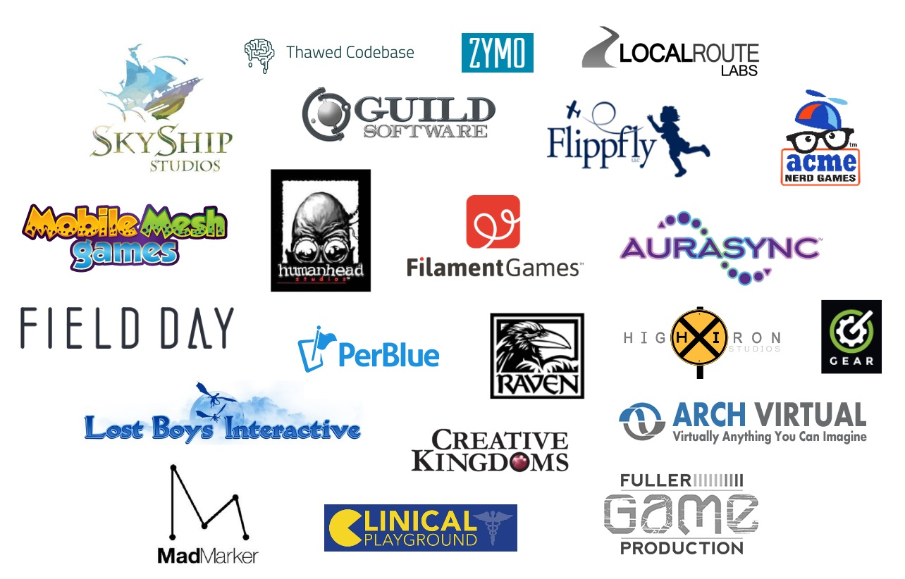 wisconsin games alliance studios logos